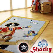 Captn Sharky Teppiche