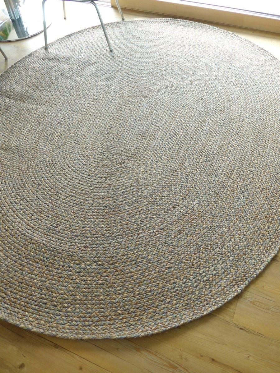 wunschma teppich bozen 148 sisal rund oval. Black Bedroom Furniture Sets. Home Design Ideas