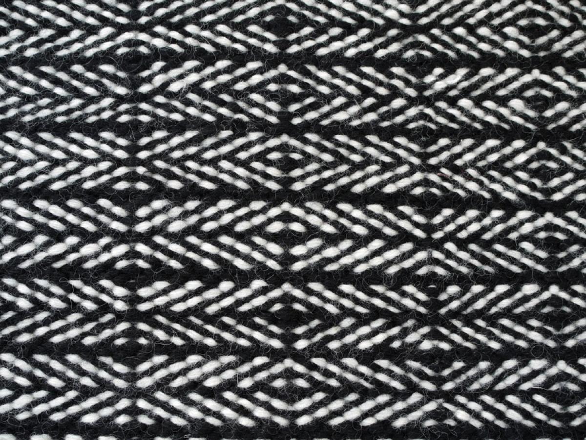fabula teppich tanne 1510 schwarz wei. Black Bedroom Furniture Sets. Home Design Ideas