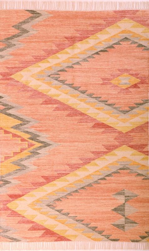 tom tailor teppich vintage zigzag kelim berry 260. Black Bedroom Furniture Sets. Home Design Ideas