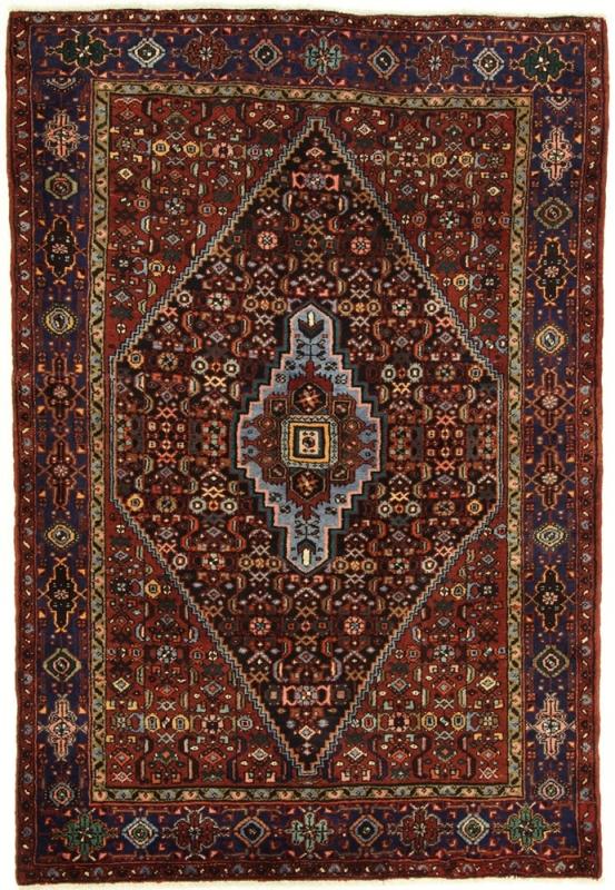 Perserteppich Khamseh rot (147x215cm)