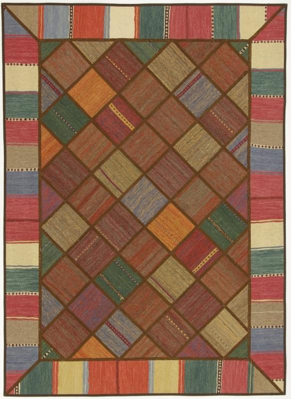 Perserteppich patchwork  Patchwork Kelim Multicolour (150x208cm)