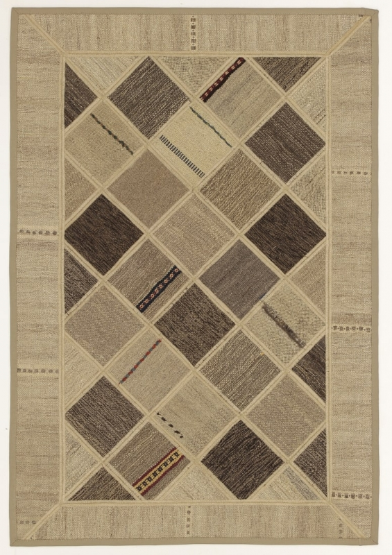 Perserteppich patchwork  Patchwork Kelim Multicolour (84x122cm)