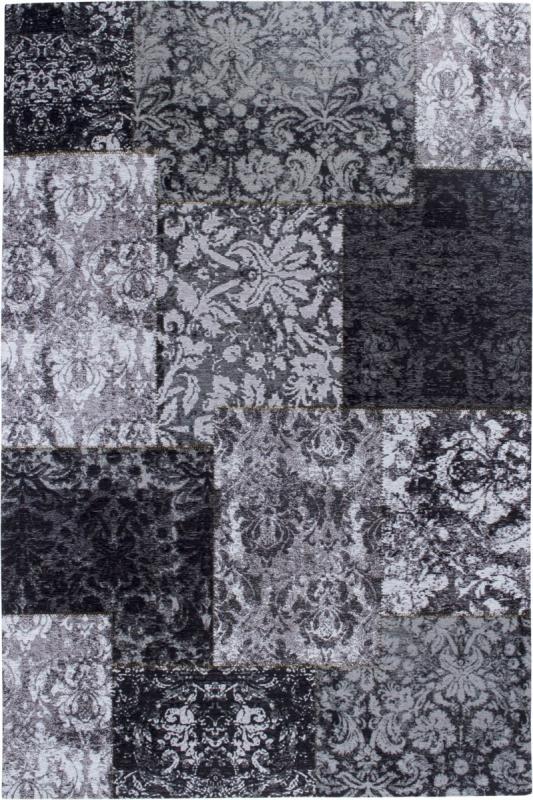 sonderangebot teppich luxor living barock schwarz wei. Black Bedroom Furniture Sets. Home Design Ideas