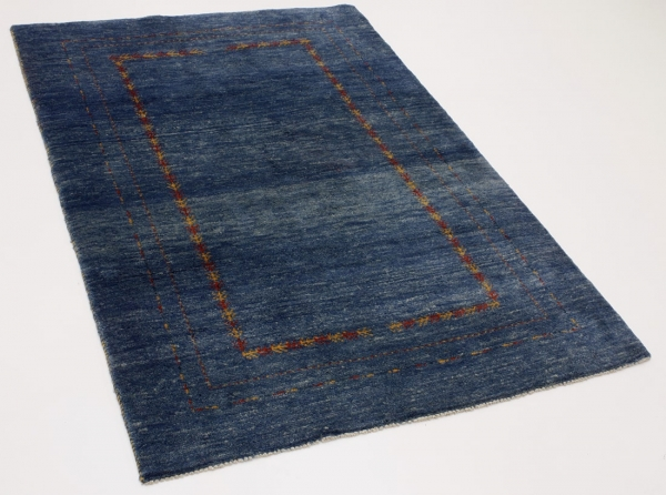Perserteppich blau  Gabbeh blau (118x173cm)