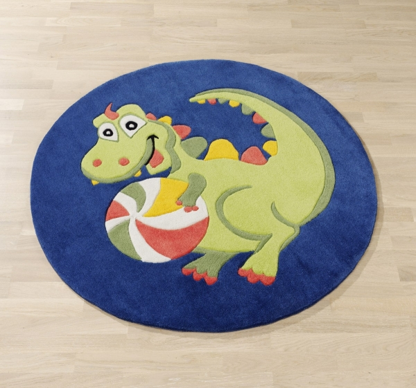 Kinderteppich Dragon rund 1362-01