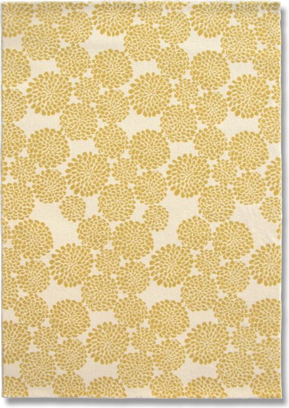 Teppich MonTapis Feldblume Gelb
