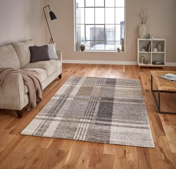 teppich montapis 4892 beige grau. Black Bedroom Furniture Sets. Home Design Ideas