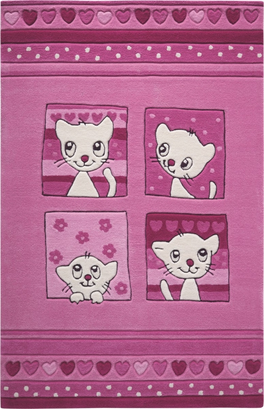 Kinderteppich MonTapis Kitty Kat SM-3988-02