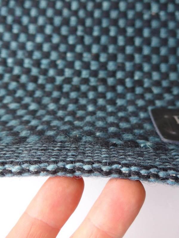 fabula teppich myrtus 1529 schwarz blau. Black Bedroom Furniture Sets. Home Design Ideas