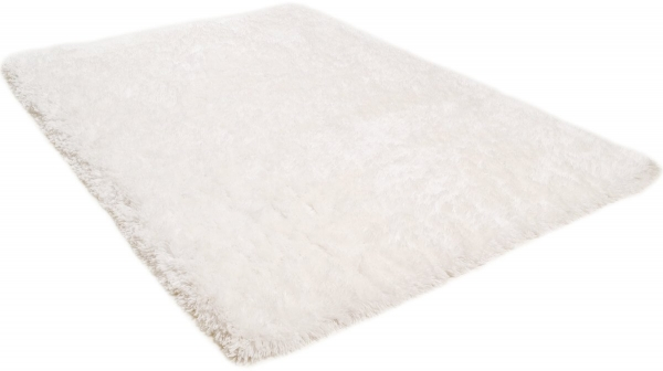 Tom Tailor Kuschelteppich Flocatic white 100