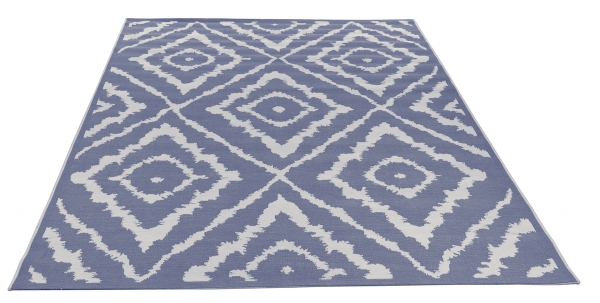 Tom Tailor Teppich Garden Pattern blue 700
