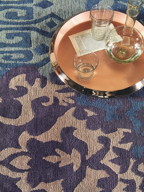 teppich yara venice bc 196208. Black Bedroom Furniture Sets. Home Design Ideas