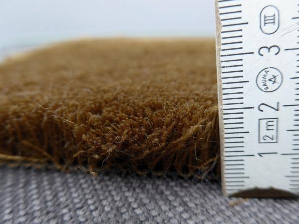 wunschma teppich v greifenstein mohair 16 low hazel brown. Black Bedroom Furniture Sets. Home Design Ideas