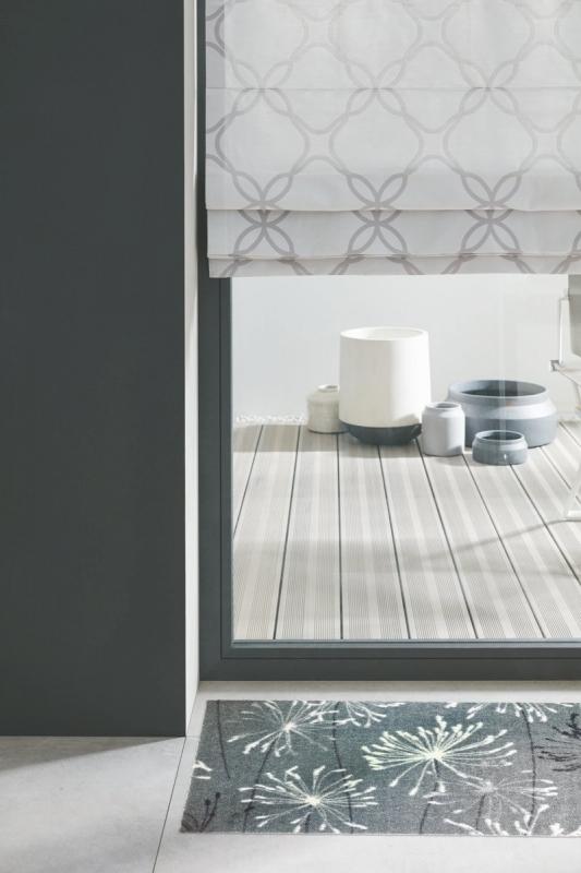 wunschma sauberlauf sch ner wohnen manhattan 001 040 grau. Black Bedroom Furniture Sets. Home Design Ideas