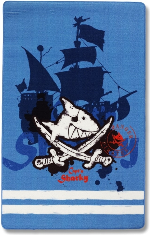 Piratenteppich Captn Sharky 305