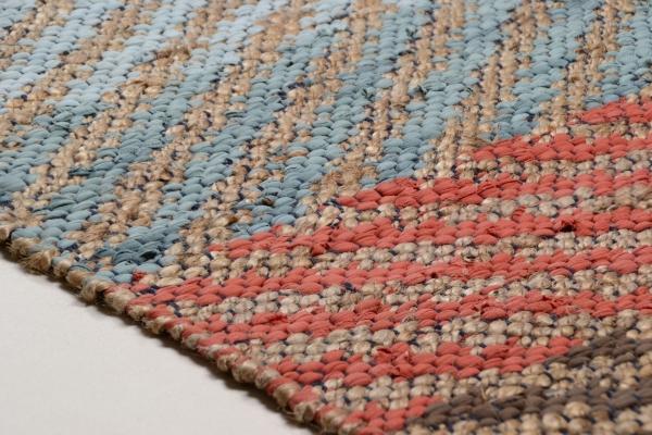 tom tailor teppich smooth comfort pastel stripe natural multi 115. Black Bedroom Furniture Sets. Home Design Ideas