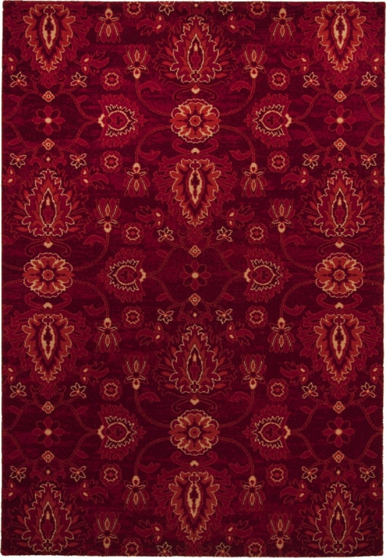 Teppich MonTapis Timeless 001220 bordeaux