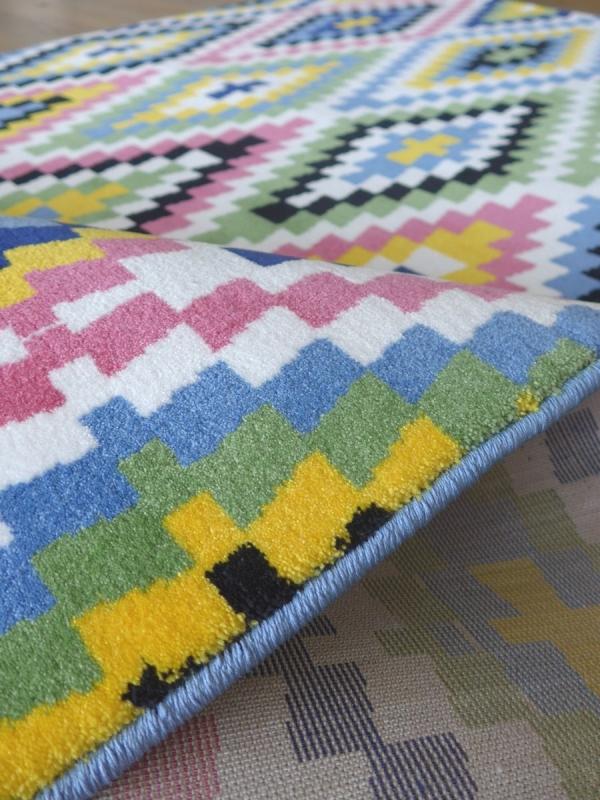 sonderangebot teppich montapis fresh kelim 0651 01. Black Bedroom Furniture Sets. Home Design Ideas