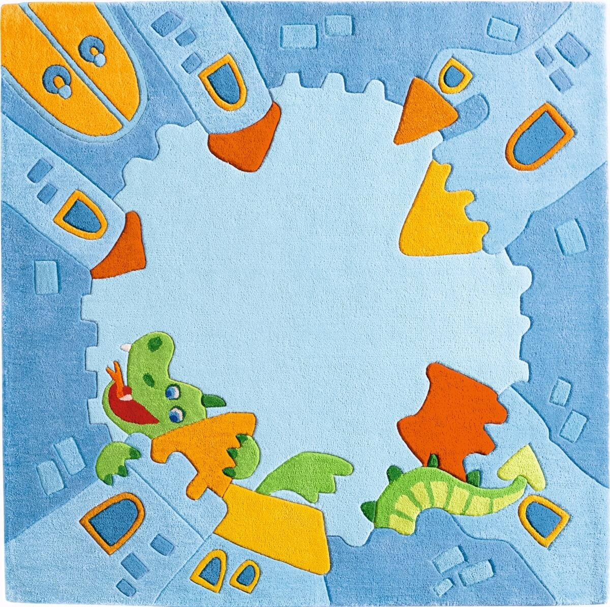 Kinderteppich haba  Kinderteppich HA-302835-Ritterburg