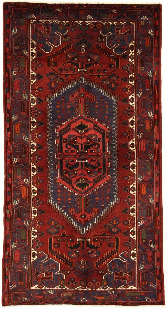 Perserteppich Khamseh rot (133x250cm)