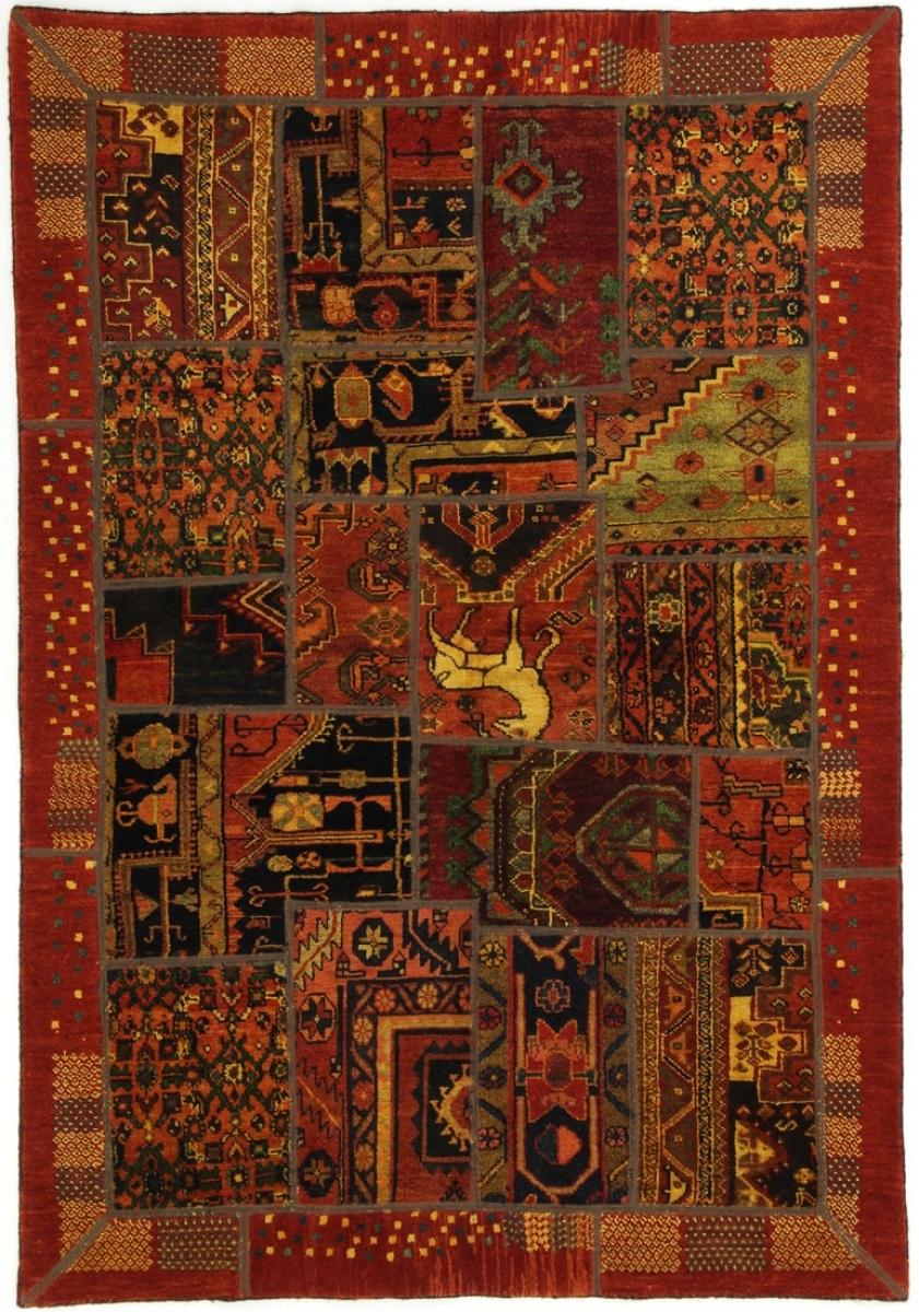 perserteppich patchwork multi 140x208cm. Black Bedroom Furniture Sets. Home Design Ideas