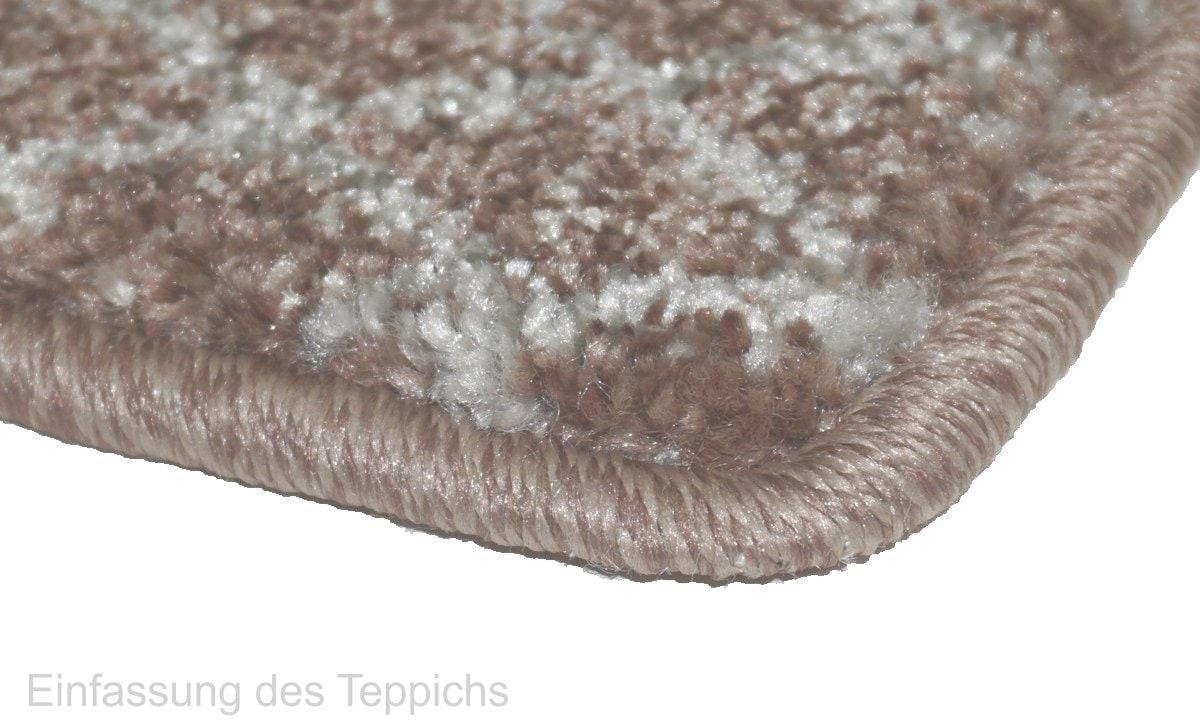 Teppich Astra Carpi Gitter braun