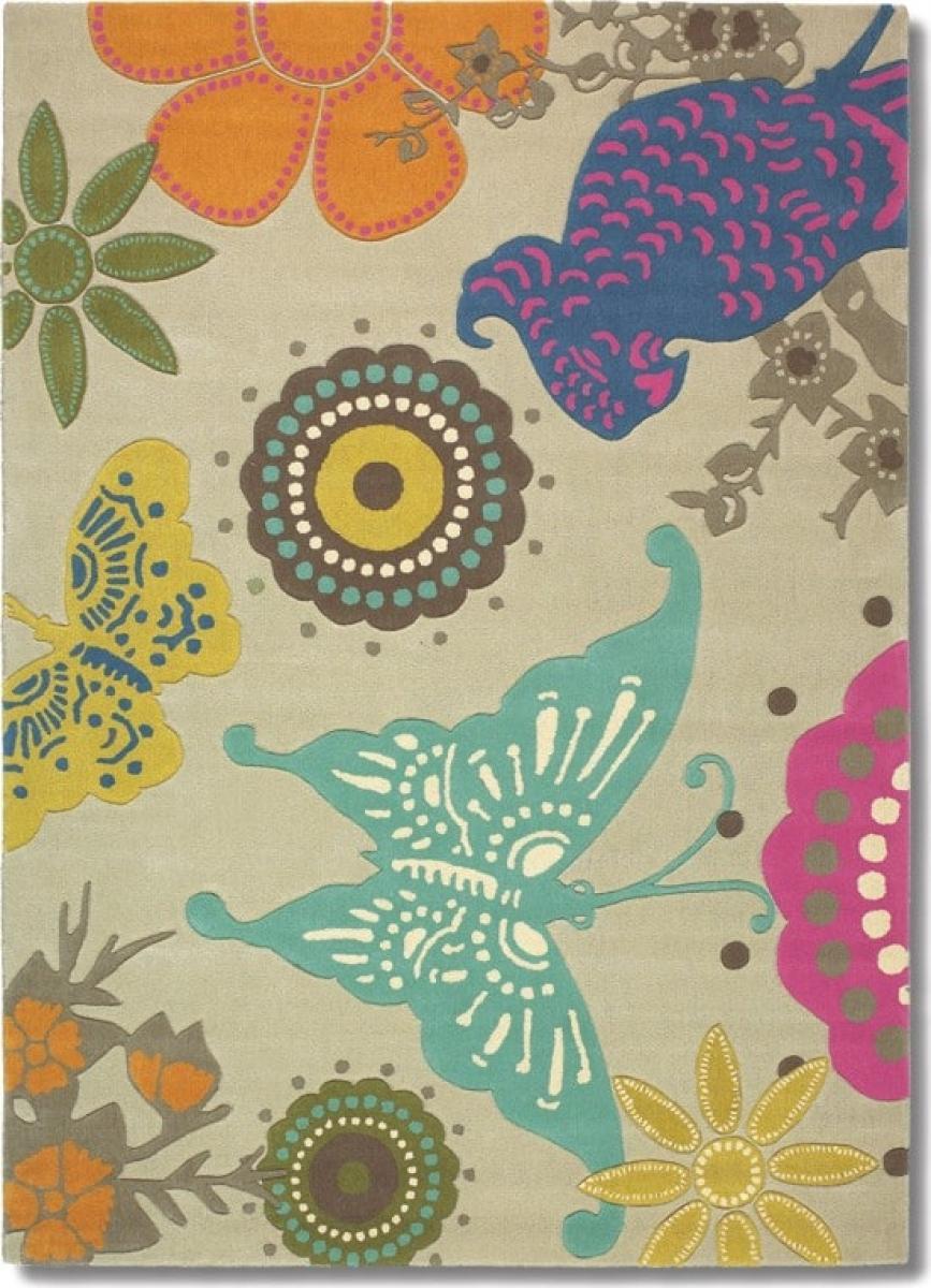Sonderangebot Teppich Xian Butterfly BC-76001