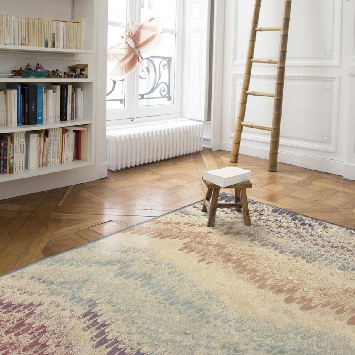 Teppich montapis pfau bunt - Teppich wohnzimmer bunt ...