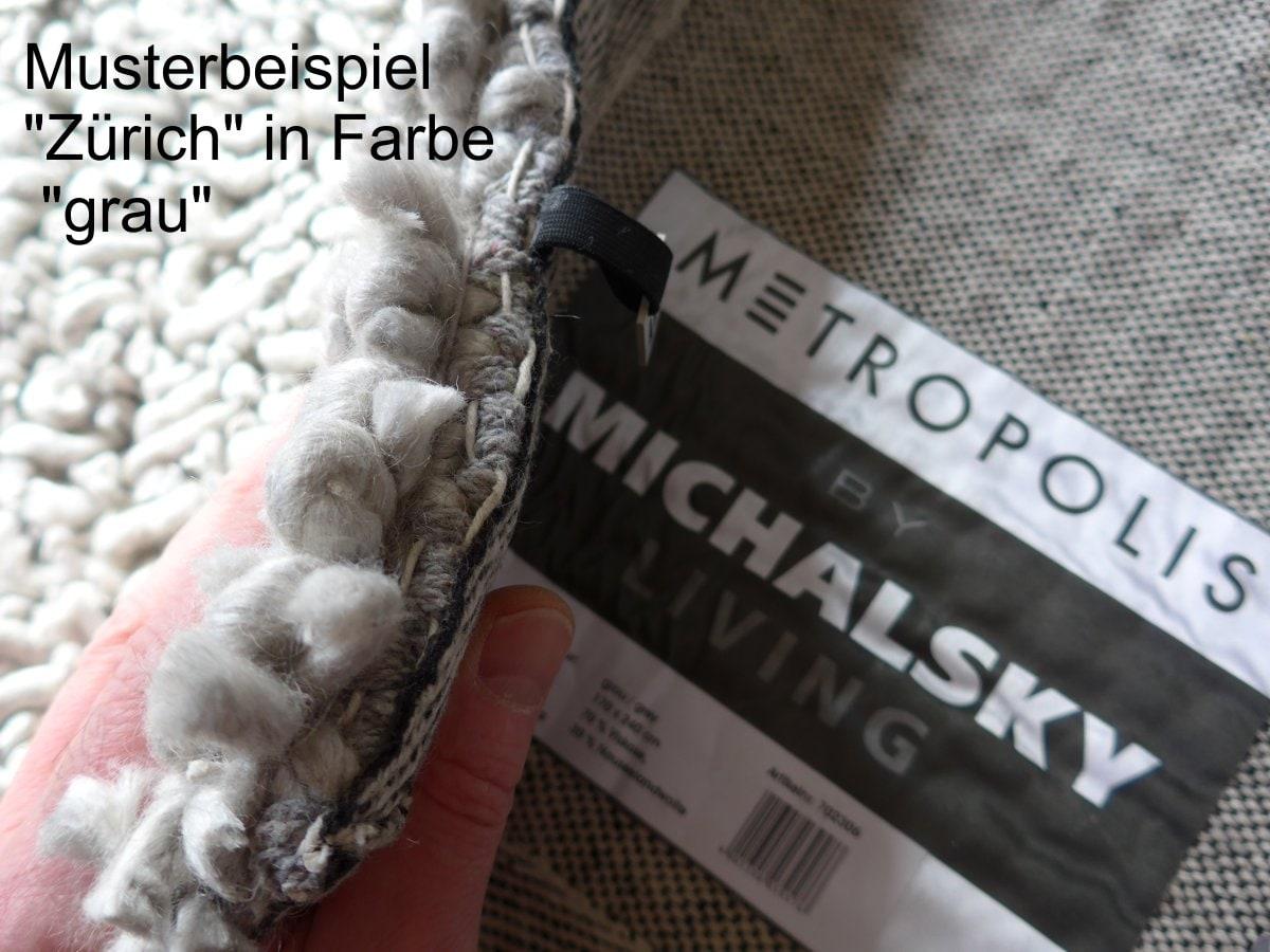 M Michalsky Teppich Zürich grau