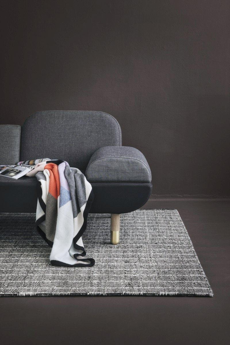 fabula teppich new freja 1013 wei braun. Black Bedroom Furniture Sets. Home Design Ideas
