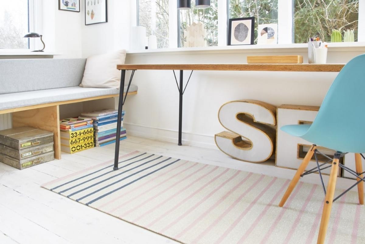 fabula teppich poppy 3012 rosa beige. Black Bedroom Furniture Sets. Home Design Ideas
