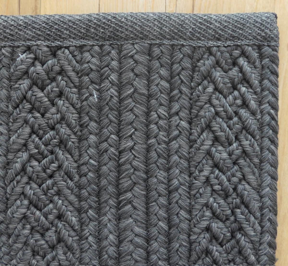 teppich toulemonde bochart torsade anthracite. Black Bedroom Furniture Sets. Home Design Ideas