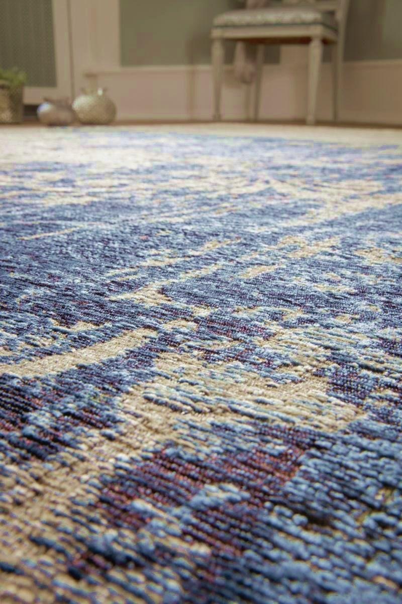 Teppich luxor living barock beige blau