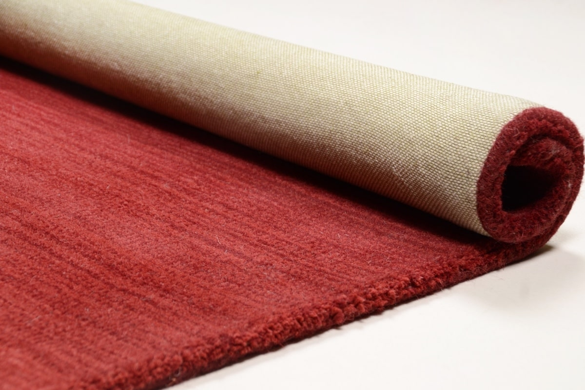Teppich MonTapis Wool-Comfort rot