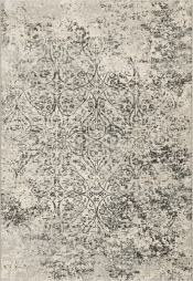 Teppich MonTapis Zion 34 grau-schwarz
