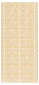 Teppich Horredsmattan Deco Yellow