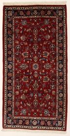 Perserteppich Kashan rot (73x140cm)