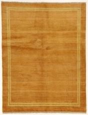 Perserteppich Gabbeh gelb (150x193cm)