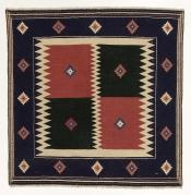 Perserteppich Kelim Multicolour (139x143cm)