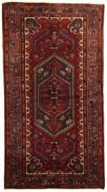 Perserteppich Khamseh rot (135x250cm)
