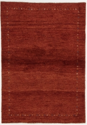 Perserteppich Gabbeh rot (105x150cm)