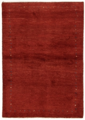 Perserteppich Gabbeh rot (104x150cm)