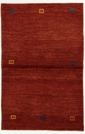Perserteppich Gabbeh rot (107x165cm)