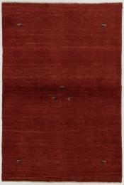 Perserteppich Gabbeh rot (100x152cm)