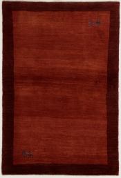 Perserteppich Gabbeh rot (98x145cm)