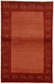 Perserteppich Gabbeh rosa (100x155cm)