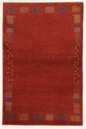 Perserteppich Zagros rot (100x153cm)