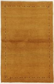 Perserteppich Gabbeh gelb (100x155cm)