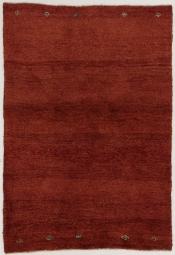 Perserteppich Gabbeh rot (97x136cm)